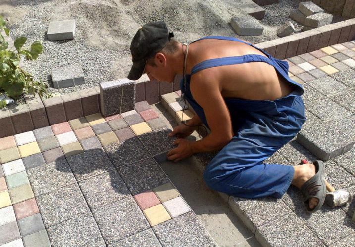 В Германию требуются Мастера по укладке тротуарной плитки