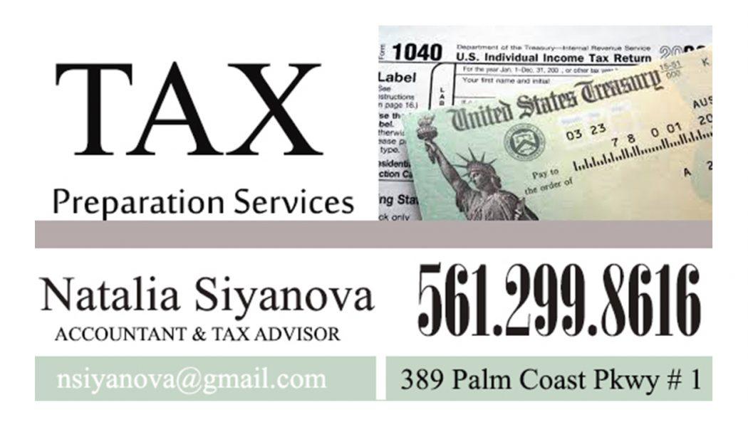 Оформляю налоговые отчеты на территории США Регистрирую новые компании Помогаю в получении ITIN для не ризидентов