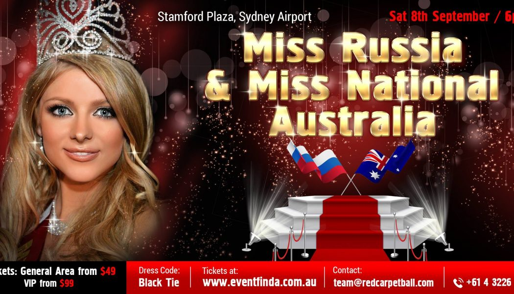 Мисс Россия — Австралия!