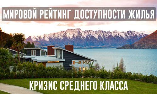 Мировой рейтинг доступности жилья